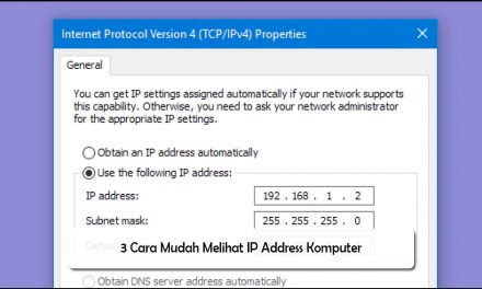 3 Cara Mudah Melihat IP Address Komputer