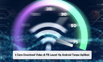 Cara Menampilkan Kecepatan Internet di HP
