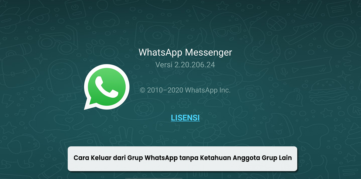 Cara Keluar dari Grup WhatsApp tanpa Diketahui Anggota Lain