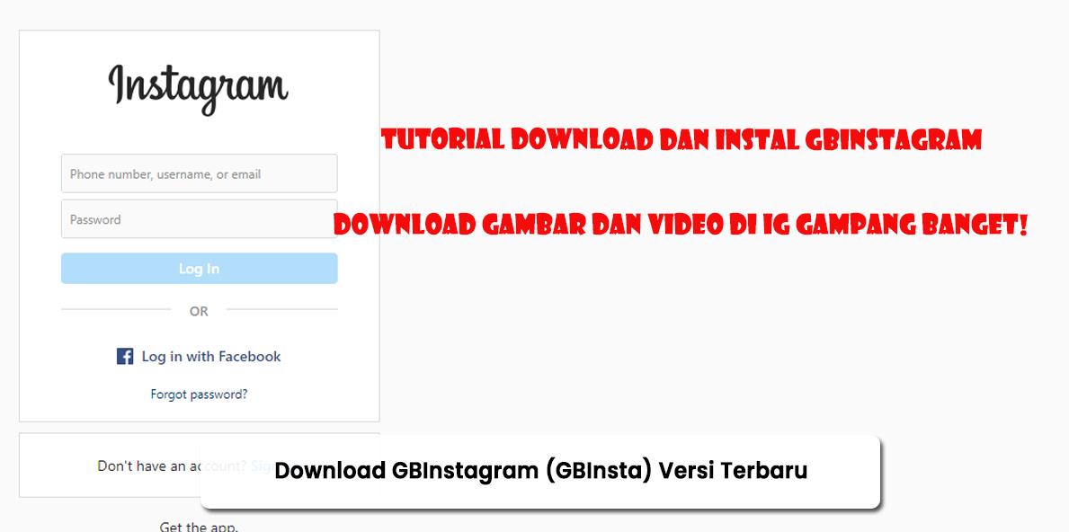 Download GBInstagram (GBInsta) Versi Terbaru